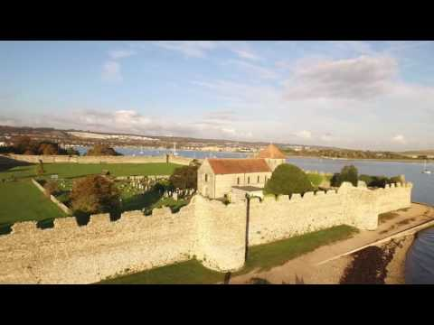 Port Solent & Portchester by Drone