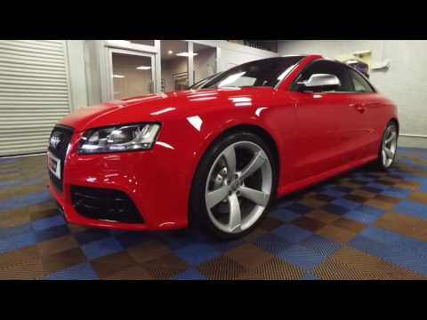 2011 Audi RS5 for sale by James Glen Car Sales, Airdrie, Scotland