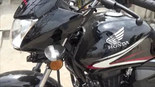Honda CB Shine DX New graphics and colours upgrade model 2015