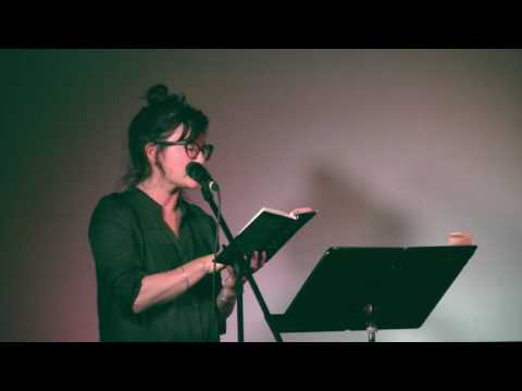 Erin Wunker reading from Notes from a Feminist Killjoy at the 2016 BookThug Fall Launch