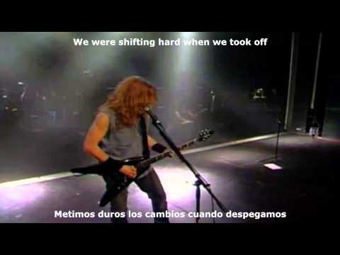 Megadeth - Mechanix Live Rude Awakening (Sub Español & English)