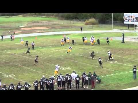 Andrew Rodriguez College: Freshman Year Football 2013