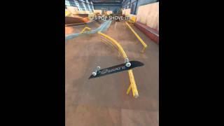 [True Skate] triple rail jump(again)