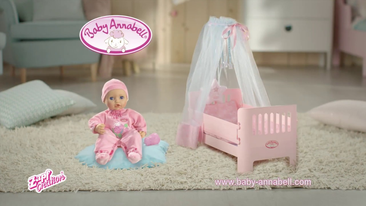 Baby Annabell Puppe TVC 2017 DE - YouTube