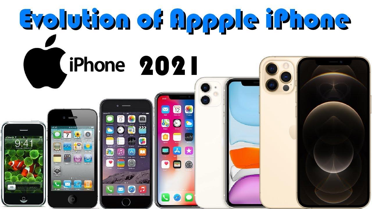 Evolution of Apple Iphone 2021 - YouTube