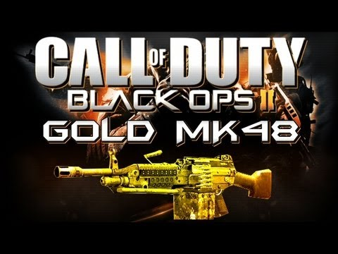 Black Ops 2 Gold Guns Wallpaper