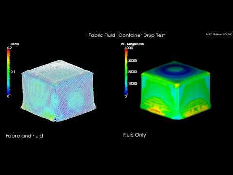msc-nastran-explicit-nonlinear---fabric-filled-container-drop-test-rupture