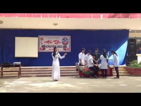 10A1 THPT Nguyen Dieu ke chuyen ve Bac