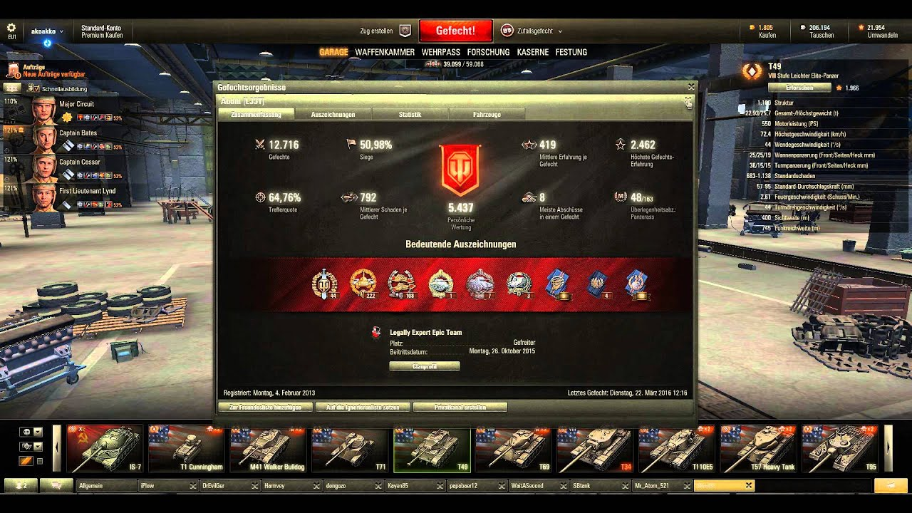 World of tanks unbalanced matchmaking