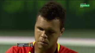 ATP 2012 Miami QF Nadal vs Tsonga