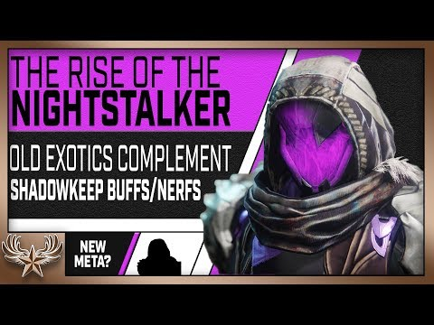 The Rise Of The Nightstalker. Shadowkeep Changes How We Use It