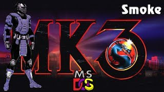 Smoke - Mortal Kombat 3 - PC MS-DOS