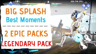 SF3 Big Splash Event Rewards, 2 Epic Packs, Legendary Pack, Highlights