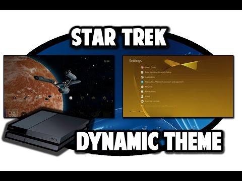 [PS4 THEMES] Star Trek Dynamic Theme Video In 60FPS