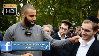 Jewish Police!? Mohammed Hijab Vs Jewish Visitors | Speakers Corner | Hyde Park