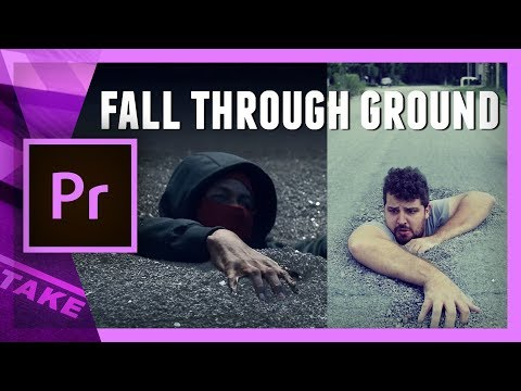 Fall through the ground (Kendrick Lamar - LOYALTY) Premiere Pro Tutorial