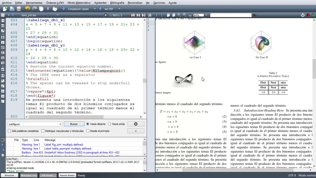 Latex texmaker tutorial 11 art culo formato ieee journal for Texmaker templates