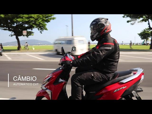 Test-ride: Scooter Honda Elite 125