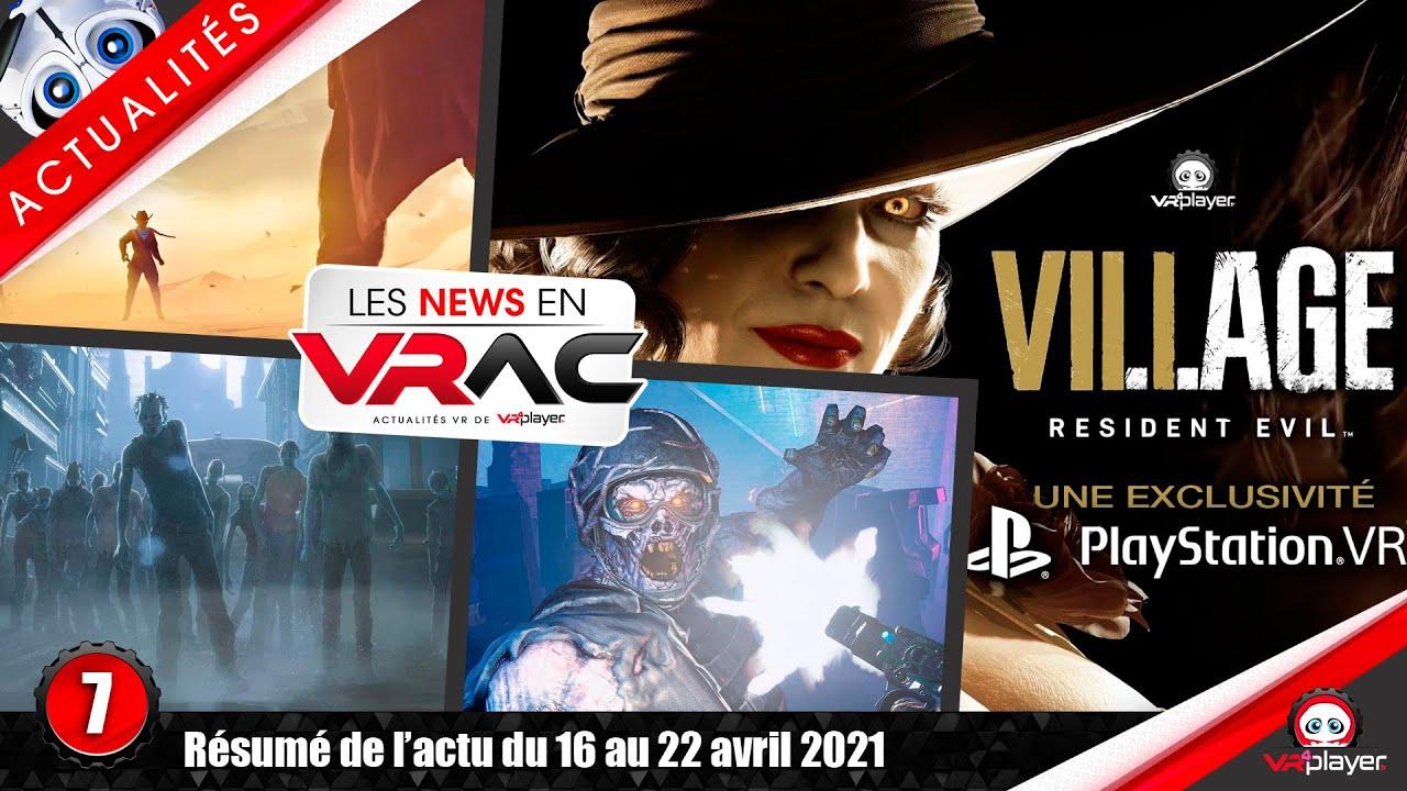 PSVR PlayStation VR : Resident Evil 8 Village VR, Saints & Sinners Aftershocks, After the Fall