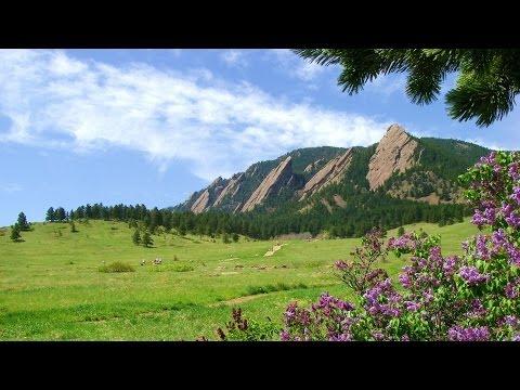 Timelapse Tour of Chautauqua Park; Boulder, Colorado