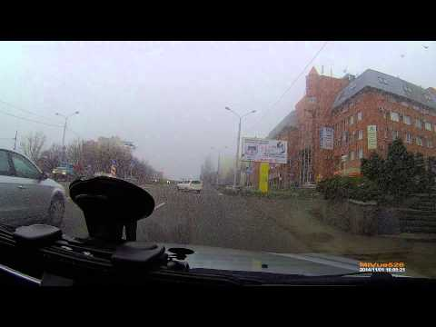 Разборка на дороге. Ставрополь