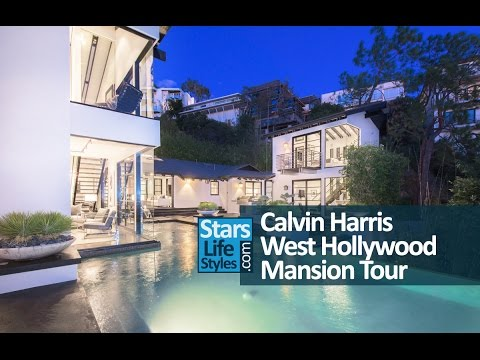 Calvin Harris West Hollywood House Tour Los Angeles California 9 Million Celebrity