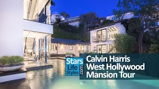 Calvin Harris' West Hollywood House Tour | Los Angeles, California | $9 Million | DJ