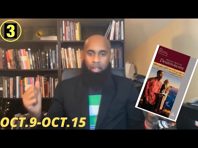 The Book Of The Covenant  Sabbath School  Lesson 3 Qtr4  Oct 12, 2021