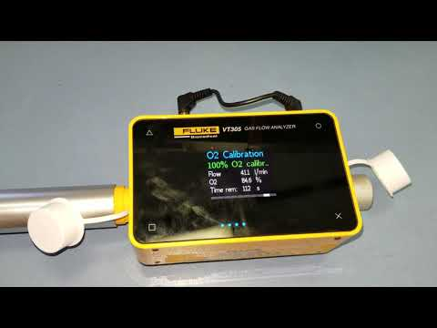 Medical Gas Flow Calibration With A Fluke Biomedical VT305