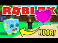 NOOB DISGUISE! NOOB TO PRO TROLLING IN ROBLOX BUBBLEGUM SIMULATOR!! [GIANT ROBOT, SOUL HEART & MORE]