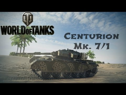 Centurion Mk. 7/1 Guide & Review + Ace Tanker Gameplay - World of Tanks