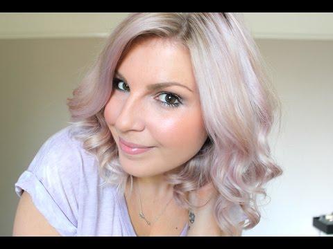 Lavender Hair Using Only Toner Youtube