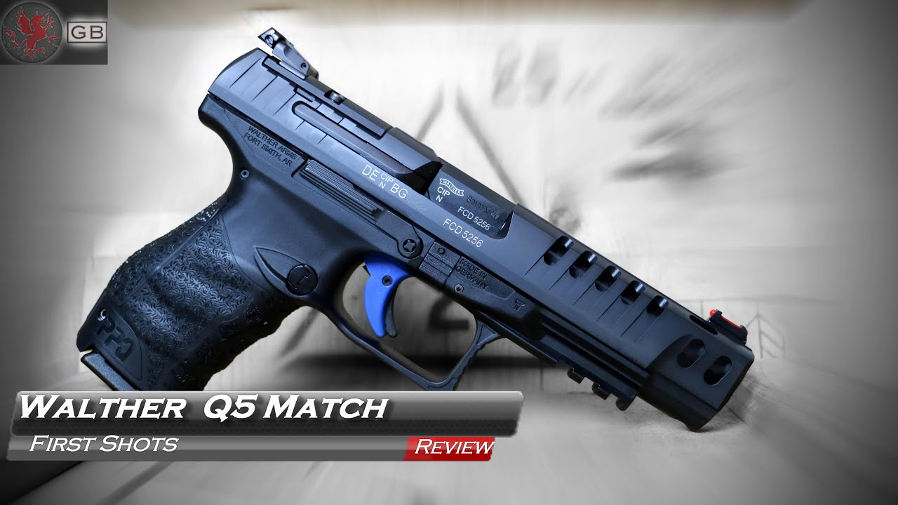 walther q5 match first impressions youtube
