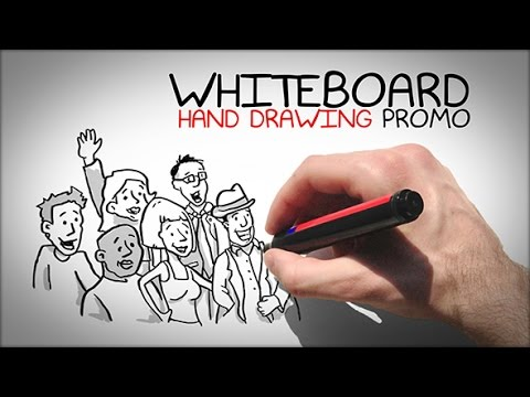 Whiteboard Hand Drawing Promo /// After Effects Template