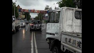 Шофер микрогрузовика потеряет работу после аварии в Хабаровске. Mestoprotv