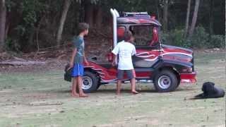mini truck kids,mini caminhao,minifusca