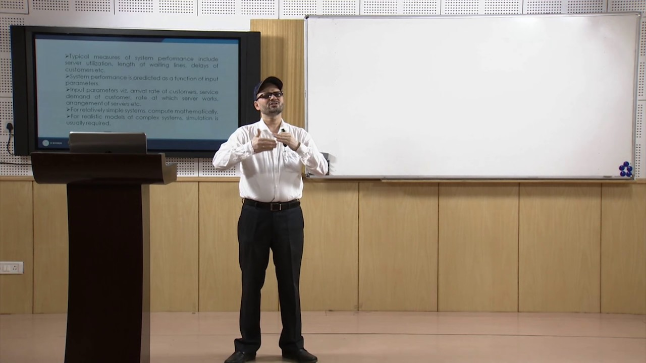NPTEL Video Course : NOC:Modelling and Simulation of