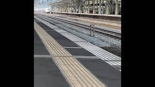 高崎駅 E4系Maxたにがわ 越後湯沢行 16両編成