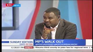 Why MPs walked out on President Uhuru in Bomet | Political Pages