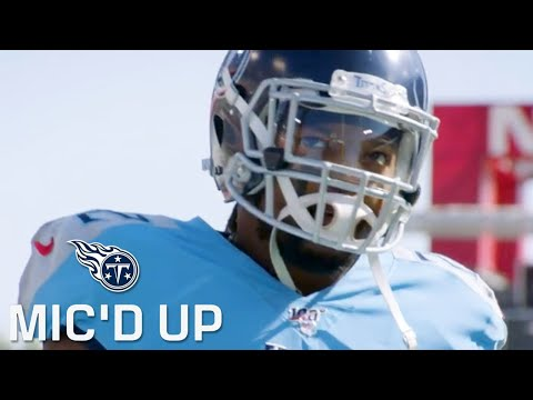 Titans Mic'd Up vs. Chargers (Week 7) | Sounds of the Game
