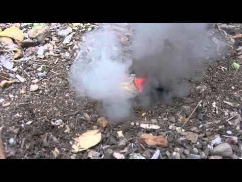 Magnesium Sugar Smoke Bomb