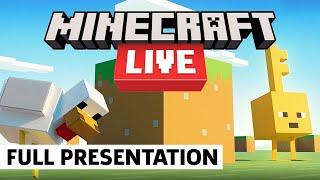 Minecraft Live 2021 Fขll Presentation