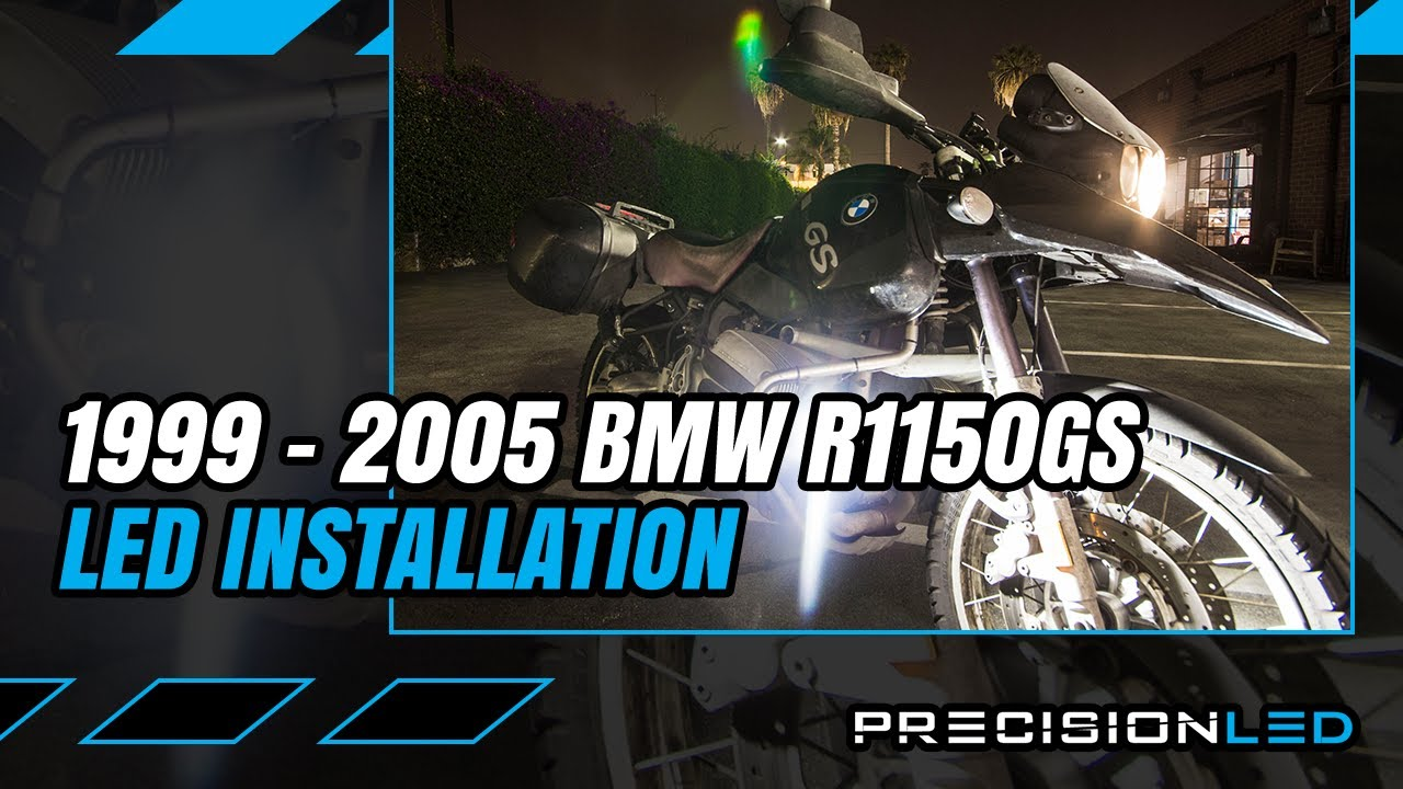 Bmw R1150gs Led Pod Light Automotive Relay How To Install 1st Piaa 1100 Wiring Diagram Lamp Generation 1999 2005 Youtube