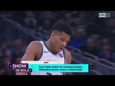 NBA: Milwaukee Bucks vence Miami Heat - Show de Bola (16/01/19)