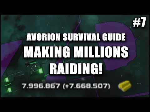 AVORION Survival Guide 7: Making MILLIONS of Credits Raiding Cargo Haulers - The Pirate's Life