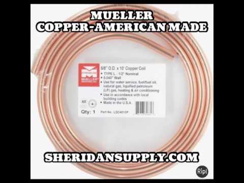 Streamline Copper by Mueller- SheridanSupply com