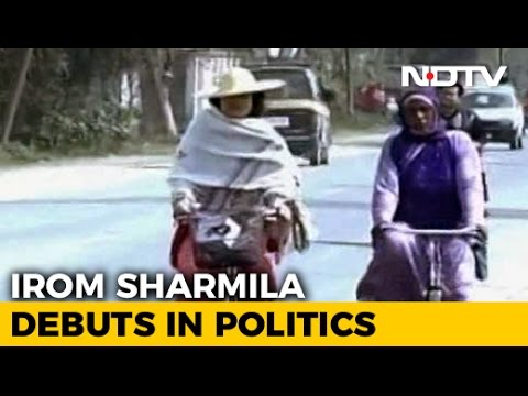 Manipur Elections: Irom Sharmila - The Long Distance Cyclist