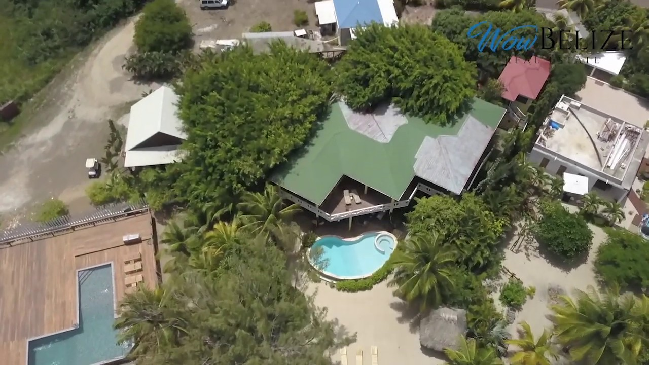 Belize Real Estate for Sale — Luxurious 4 Bedroom Beachfront Villa in  Placencia