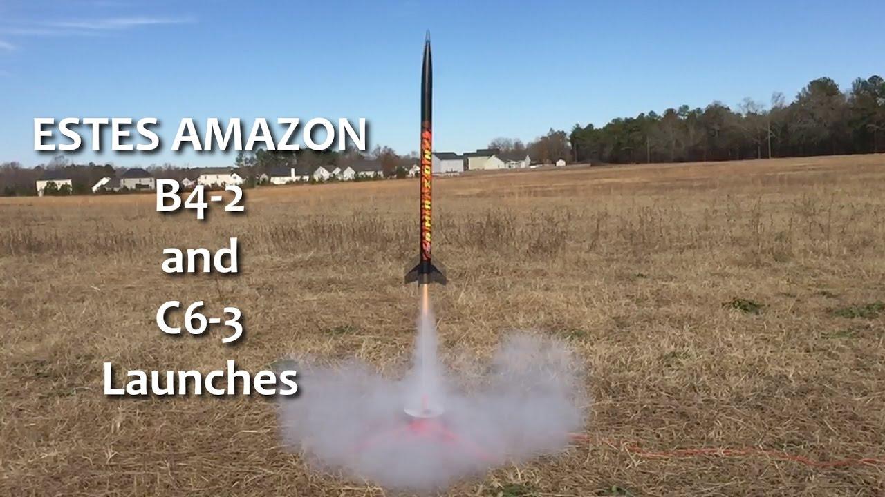 Model Rocket Engine Chart Missile Diagram Estes Tandem X Amazon 2 Launches W Different Sizes