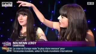 Nolwenn Leroy dévoile son double au Musée Grévin (BFM TV)